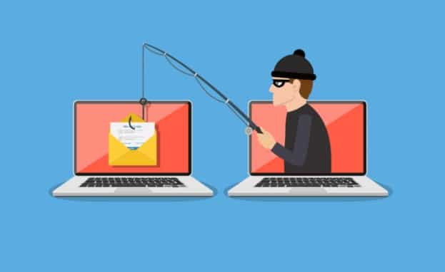 Cyber attacked triggered by phishing email
