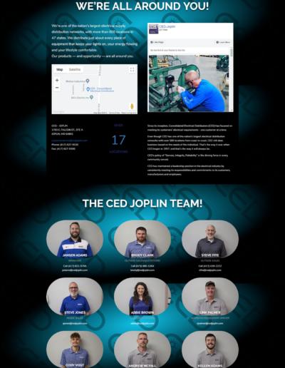 Joplin Electrical Distributor Website