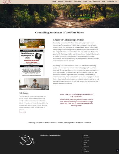 Joplin Area Counseling Website