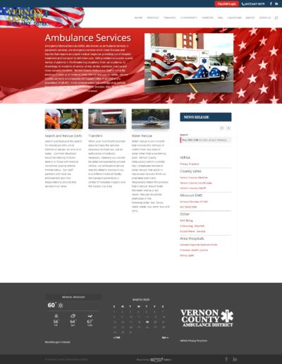 Ambulance Service Website
